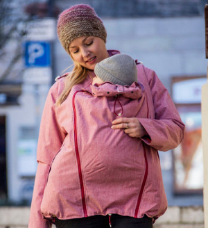 winter babywearing jacket 300
