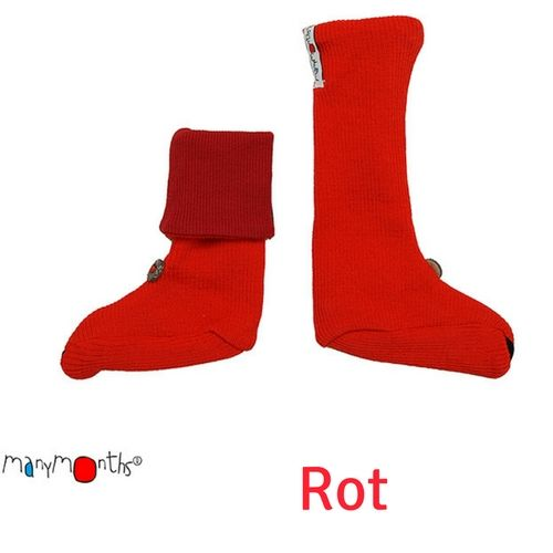 Manymonths_Babystiefel_Rot