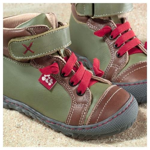 Pololo Maxi Kinderschuhe Terra Boot Olivgrün