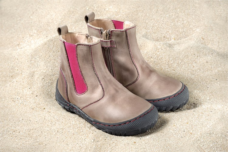 Pololo Maxi Winterschuhe Chelsea Boot Stone Pink